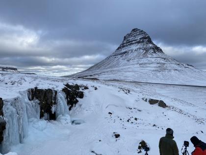 виды зимней Исландии, фото Стасмир, Photo Stasmir, Kirkjufell зимой