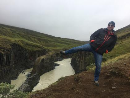 Stuðlagil Canyon, фото Стасмир, photo Stasmir
