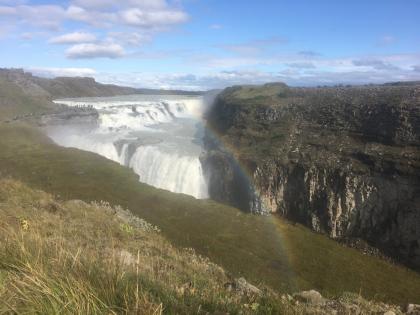 Водопады Исландии: Гюдльфосс а радуге, фото Стасмир, Photo Stasmir