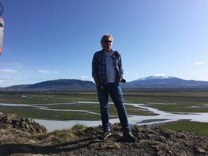 Вид на гору Гекла, фото Стасмир, photo Stasmir