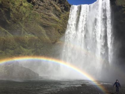 водопад Скоугафосс в Южной Исландии, фото Стасмир, photo Stasmir