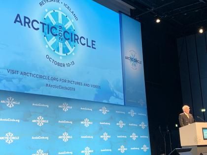 Ólafur Ragnar Grimsson, бывший президент Исландии на Арктическом кругу, фото Стасмир, photo Stasmir