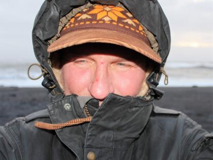 Ветренно и холодно на Рейнисфйауре, фото Стасмир, Photo Stasmir