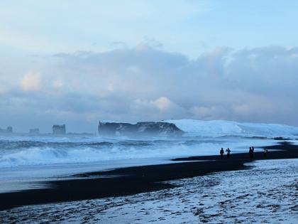 Дирхоулаэй зимой, Южная Исландия, фото Стасмир, photo Stasmir