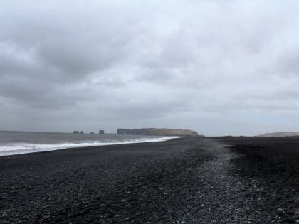 Черный пляж в Исландии или Рейнисфьяра, фото Стасмир, photo Stasmir