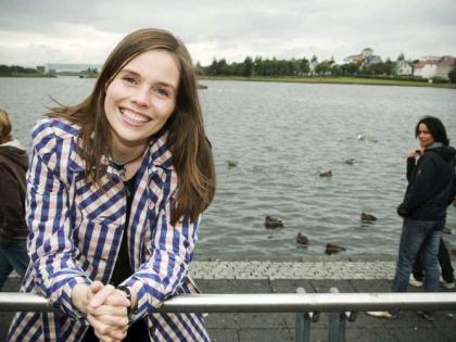 Катрин Якобсдоуттир - действующий примьер-министра Исландии, фото из интернета
