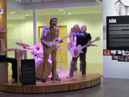 rokksafnið, Keflavík, музей рока в Кефлавике, фото Стасмир, photo Stasmir, музей исландского рока, исландский музей рок-н-ролла