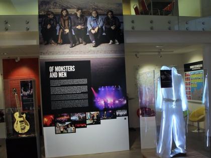 Of Monsters and Men, rokksafnið, Keflavík, музей рока в Кефлавике, фото Стасмир, photo Stasmir, музей исландского рока, музей исландского рок-н-ролла