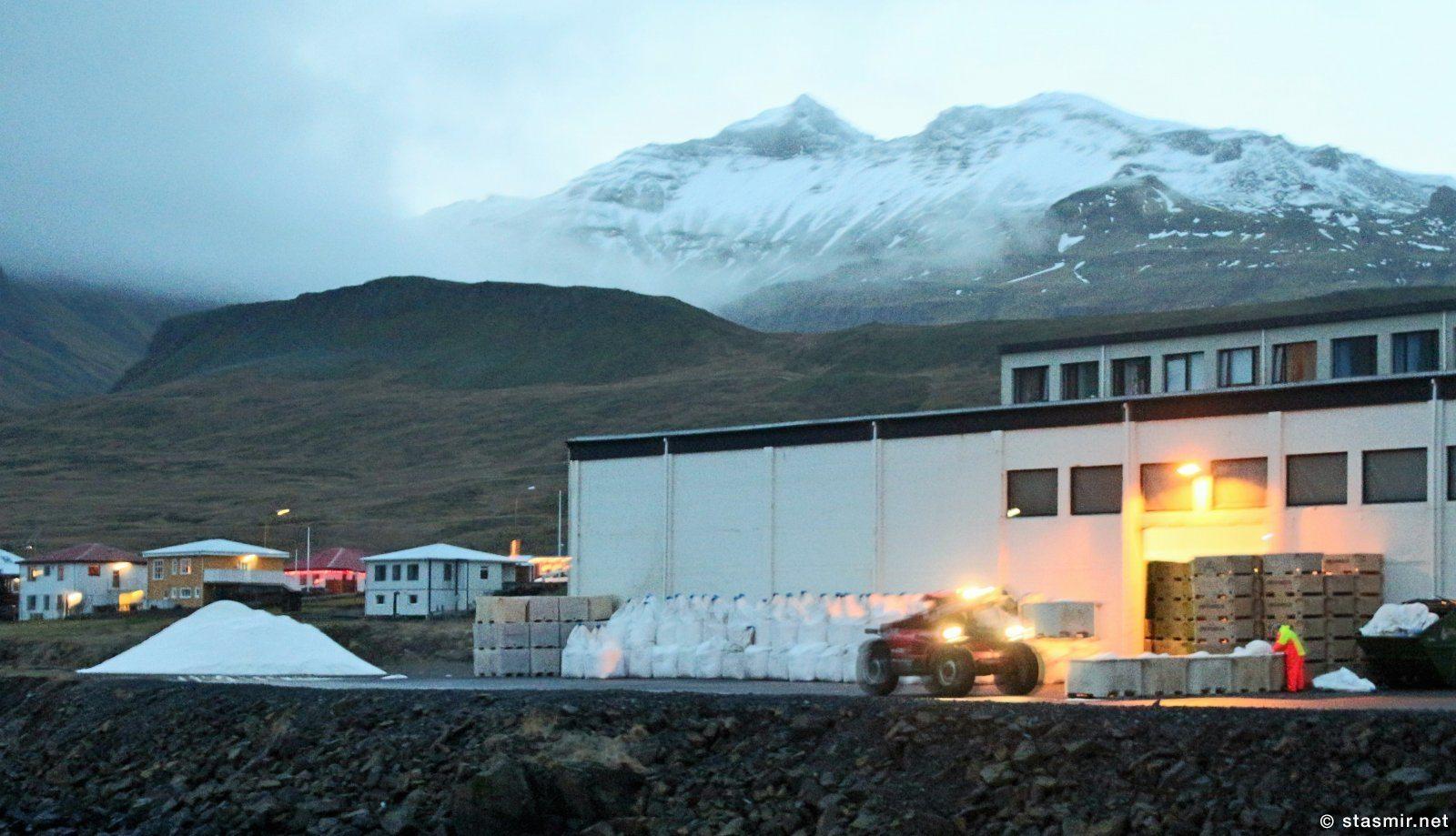 Грюндарфьёрдю, Западная Исландия, завод соленой трески, бакалао, фото Стасмир, photo Stasmir, stasmirnet, stasmircom