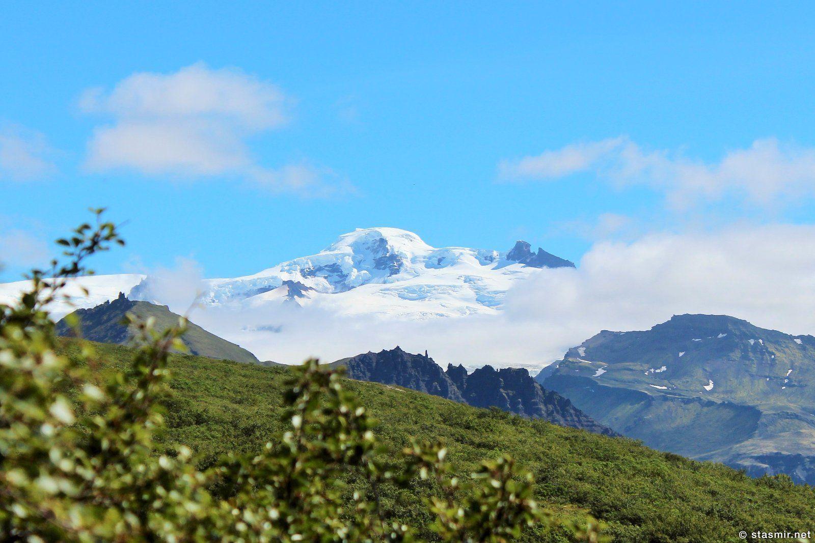 Ватнайёкюдль, самый большой ледник в Исландии и Европе, фото Стасмир, photo Stasmir