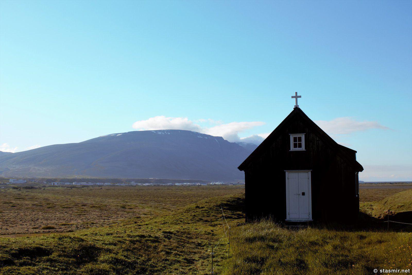 черная церковь, полуостров Скаги, фото Стасмир, photo Stasmir
