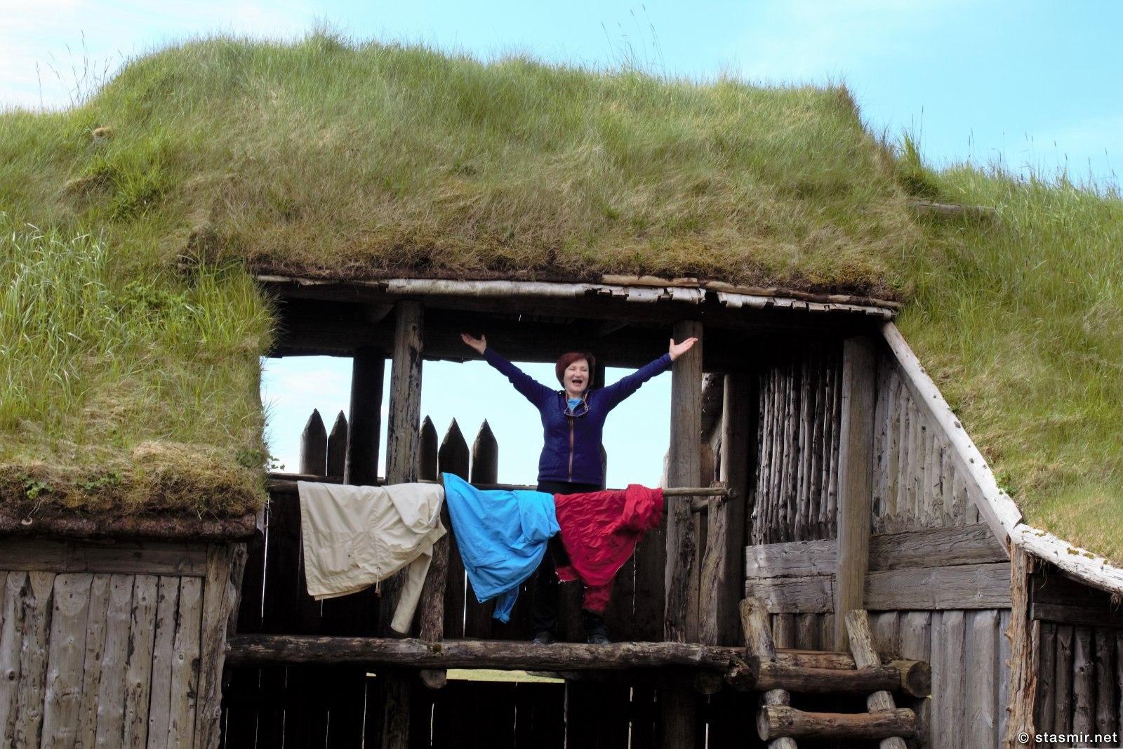 фейковая деревня викингов, Хёбн, Восточная Исландия, фото Стасмир, photo Stasmir