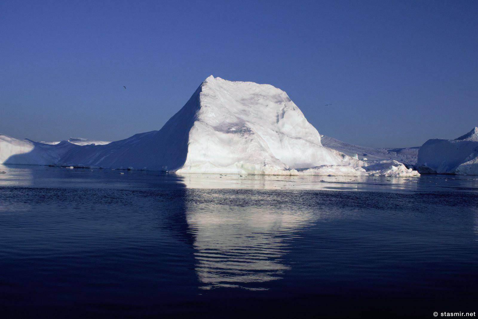Айсберг в заливе Диско, Гренландия, фото Стасмир, photo Stasmir