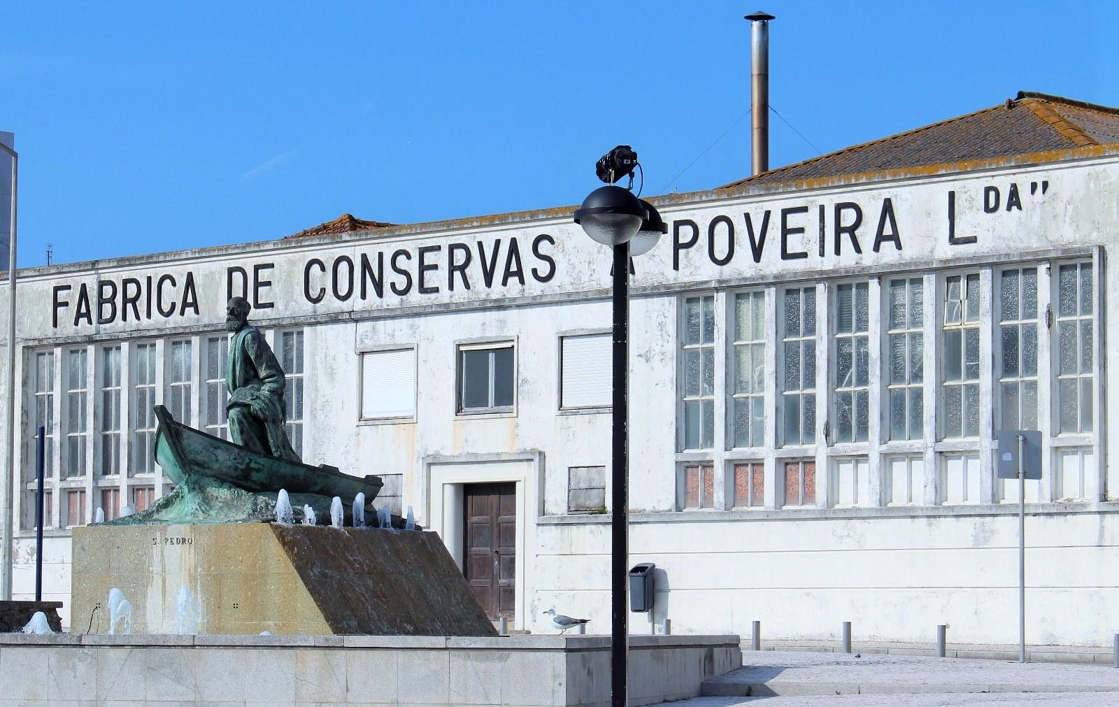 Повуа-ди-Варзин, Португалия: консервная фабрика, фото Стасмир, photo Stasmir