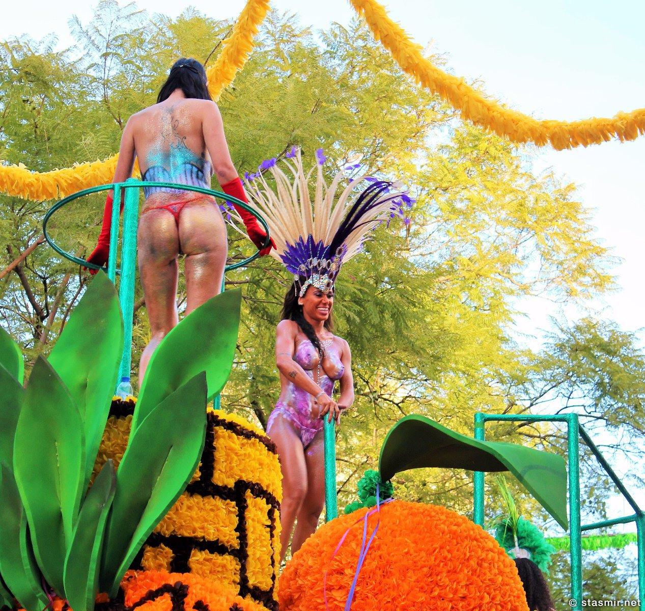 Прекрасные бразильянки на карнавале в Луле, Loule, Португалия, фото Стасмир, photo Stasmir