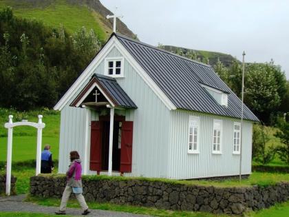 Церковь в Музее Скоугар на маршруте Южный Берег Исландии, фото Стасмир, photo Stasmir, Skógar
