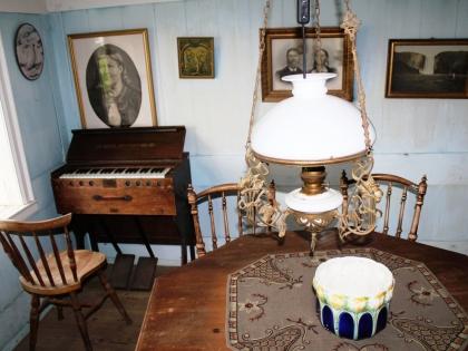 парадная гостинная в одном из домиков в музее Скоугар, фото Стасмир, photo Stasmir, Skógar