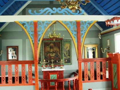 церковь в музее Скоугар или Skógar на маршруте Южный Берег Исландии, фото Стасмир, photo Stasmir