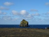 Вид с оконечности полуострова Reykjanes (Рейкьянес) на остров Eldey в 16 км от берега, Photo Stasmir, Фото Стасмир, Фото Станислав Смирнов, Photo Stanislav Smirnov