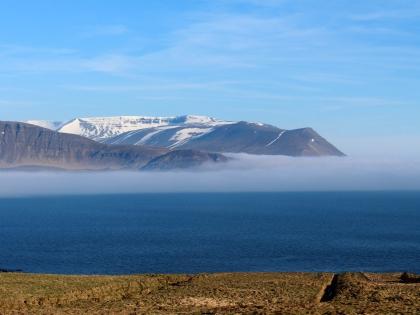 китовый фьорд в тумане, фото Стасмир, photo Stasmir