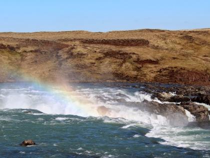 Урридафосс - водопад в Южной Исландии, фото Стамир, Photo Stasmir