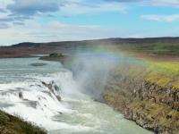 Гюдльфосс, Южная Исландия, Золотое кольцо, водопады Исландии, река Квидау, Hvítá, Золотой водопад, золотое кольцо Исландии, Golden waterfall, Gullfoss, Golden Circle of Iceland, Photo Stasmir