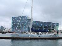 Олафур Элиассон, Концертный зал Харпа, Старая гавань Исландии, яхты, Залив Факсафлоу, Photo Stasmir