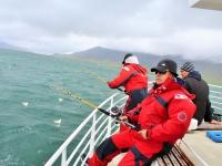 морская рыбалка из Рейкьявика, залив Факсафлоуи, ловля трески, исландская треска, рыболовные туры в Исландию, Стасмир Трэвэл, столичный регион Исландии, Рейкьявик, Photo Stasmir