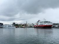 Старая гавань Рейкьявика, суда, Хадльгримскиркья, Факсафлоуи, Photo Stasmir