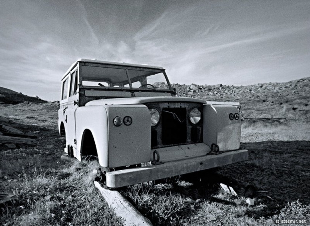 Land Rover; stayed forever, stuck forever