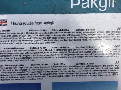 Þakgíl пешие маршруты, фото Стасмир, photo Stasmir