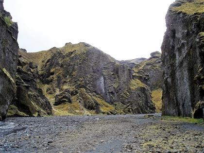 Долина по пути к туристической базе Тоурсмёрк, Торсморк, Þórsmörk, фото Стасмир, photo Stasmir