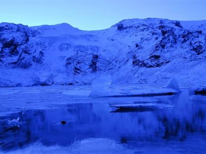Льды ныне несуществующей лагуны по пути к Тоурсмёрку, Тоурсмёрк, Торсморк, Þórsmörk, фото Стасмир, photo Stasmir