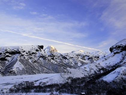 Долина Тоурсмёрк зимой, Торсморк, Þórsmörk, фото Стасмир, photo Stasmir