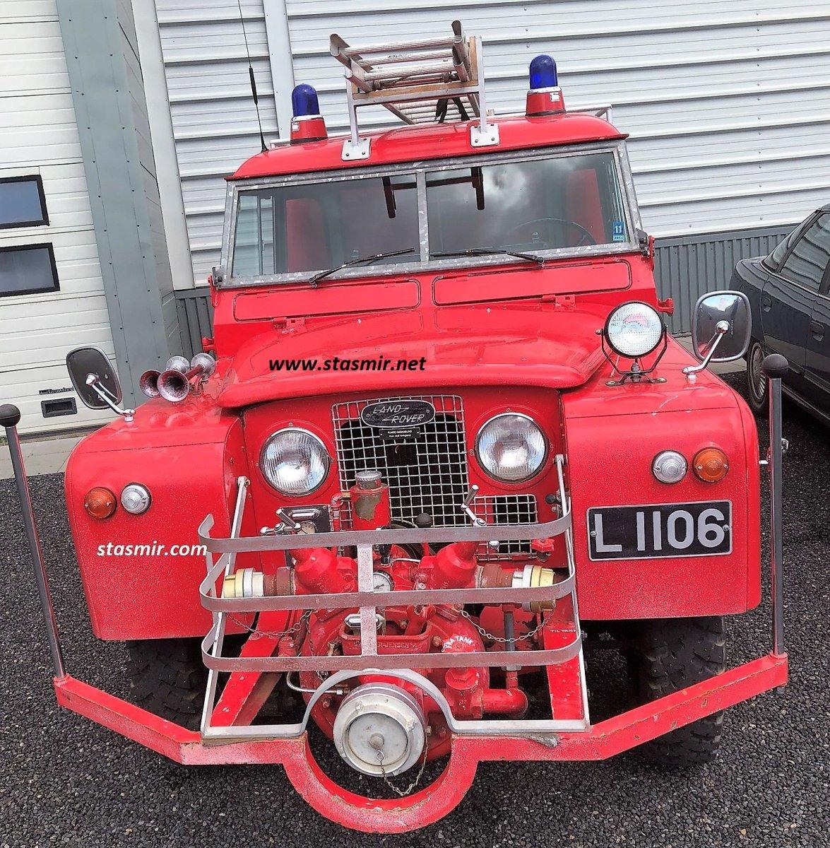 пожарный Лэндровер в Исландии, фото Стасмир, photo Stasmir, Landrover Defender