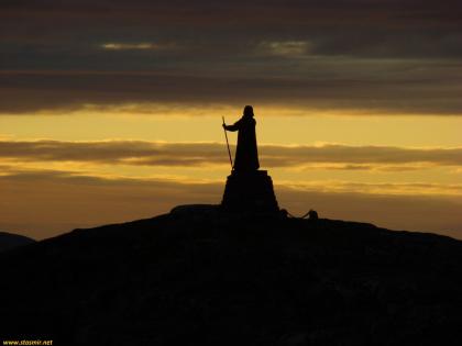 Ханс Эдеге, Нуук, Гренландия, Белая ночь, фото Стасмир, photo Stasmir