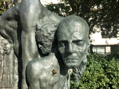 Скулптура Эйнара Йонссона, фото Стасмир, photo Stasmir