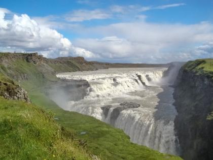 Золотое кольцо Исландии. Гейзер, Золотой водопад, Национальный парк Тингведлир