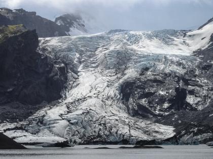 Лес Тора. Ледниковая лагуна по пути к Тоурсмёрку, которая исчезла в 2010 году, Тоурсмёрк, Торсмерк, Þórsmörk, Thórsmörk, фото Стасмир, photo Stasmir