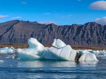 Перелет к исчезающей Ледниковой Лагуне, пеший поход к тайному Черному Водопаду, обрамленному органными трубами базальта