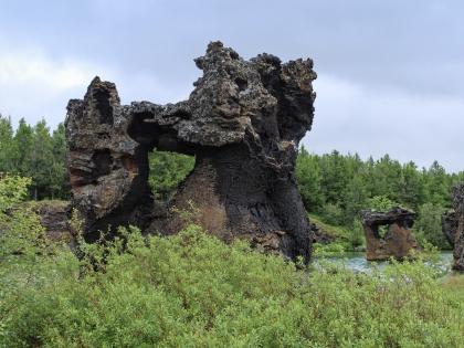 Бриллиантовое кольцо Исландии
