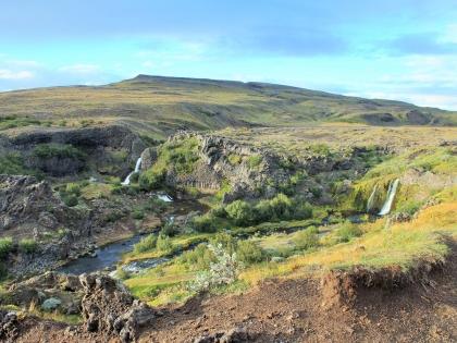 Gjáin, расщелина Гйауин, самое красивое место в Исландии, фото Стасмир, photo Stasmir