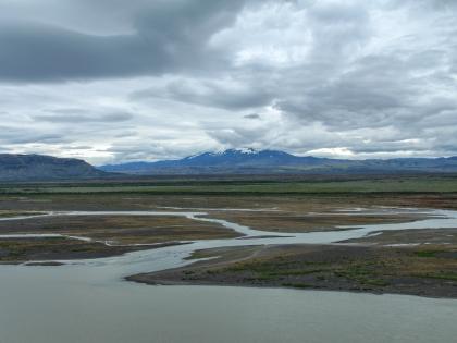 река Тйоурсау, самая длинна река в Исландии, фото Стасмир, photo Stasmir