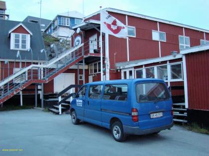 Рождественская обстановка в Нууке, Гренландия, в июле 2010 года. Фото Стасмир, Photo Stasmir