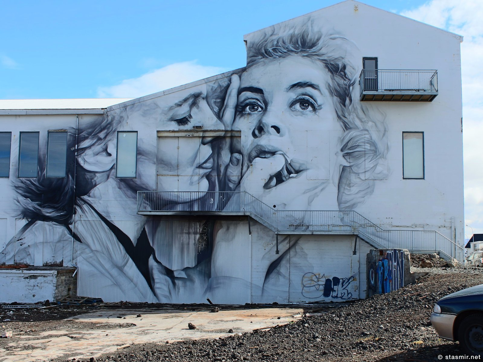 Уличное искусство Рейкьявика, Guido van Helten, фото Стасмир, photo Stasmir