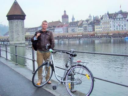 велосипед в Цюрихе, Швейцария, фото Стасмир, Photo Stasmir
