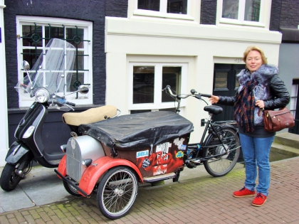 мопед в Амстердаме, Голландия, фото Стасмир, photo Stasmir