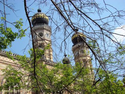 Синагога, Будапешт, Венгрия, фото Стасмир, photo Stasmir