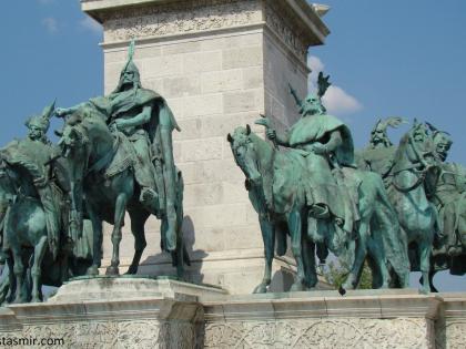 Памятник Аттиле в Будапеште, Венгрия, фото Стасмир, photo Stasmir