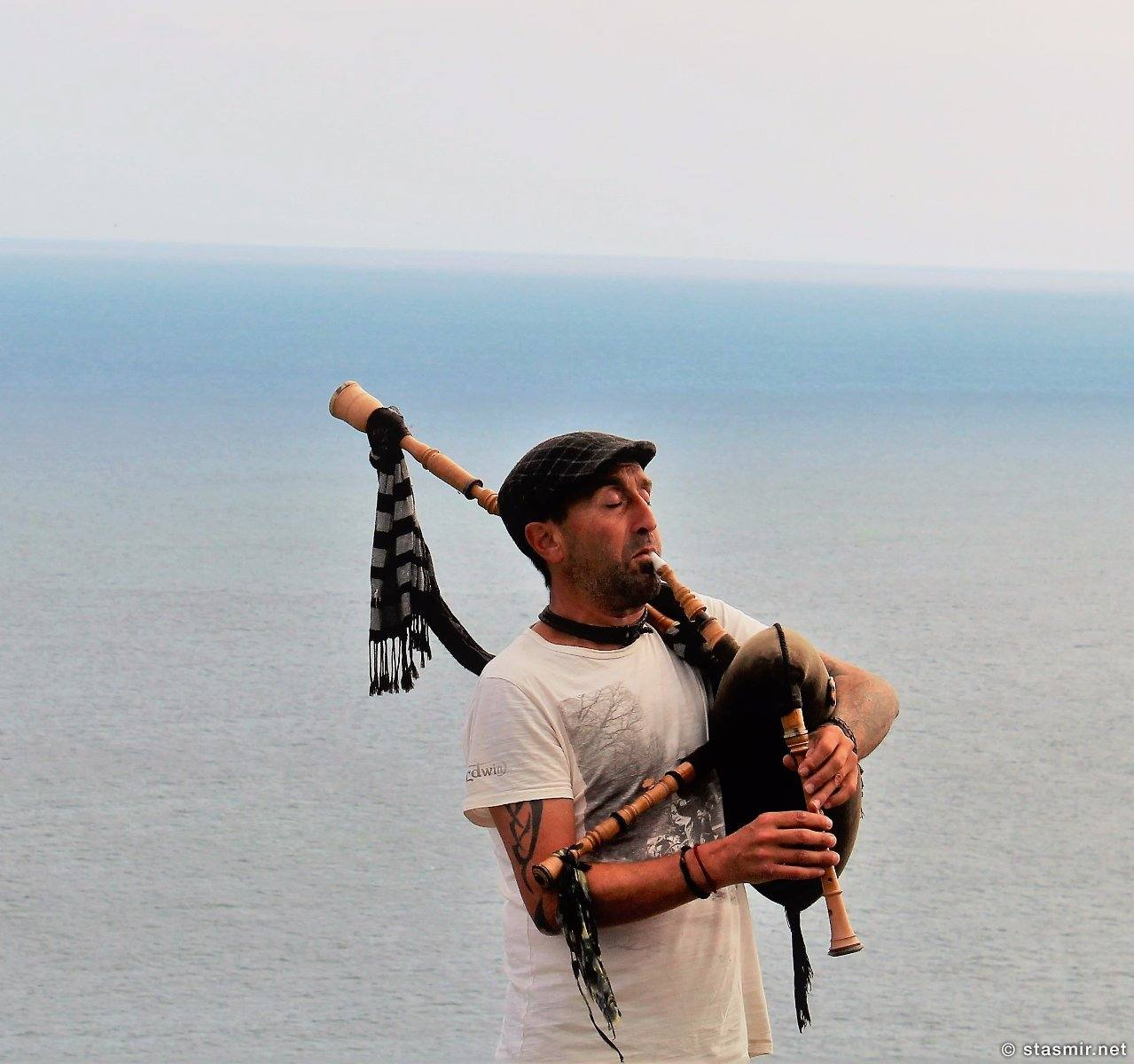 celtic piper in Galicia, Spain, Волынщик-кельт в Галисии, Испания, фото Стасмир, photo Stasmir